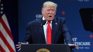 El presidente de EEUU, Donald Trump, durante un acto en Florida el pasado 3 de octubre.