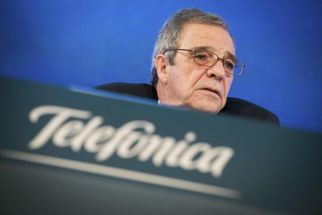 El presidente de Telefónica, César Alierta.