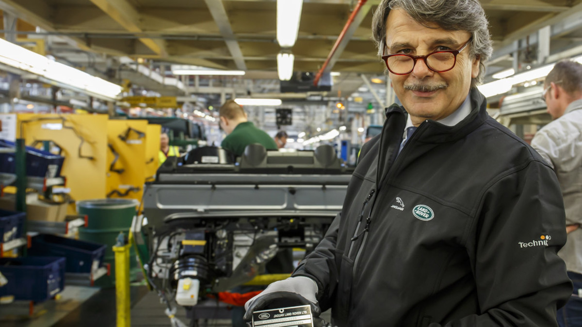 Ralf Speth, consejero delegado de Jaguar-Land Rover