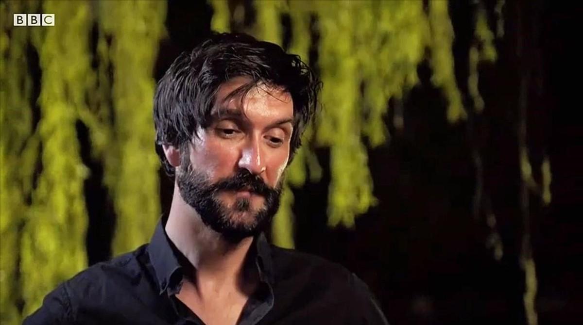 Ricard Garcia Vilanova, durante el documental de la BBC.