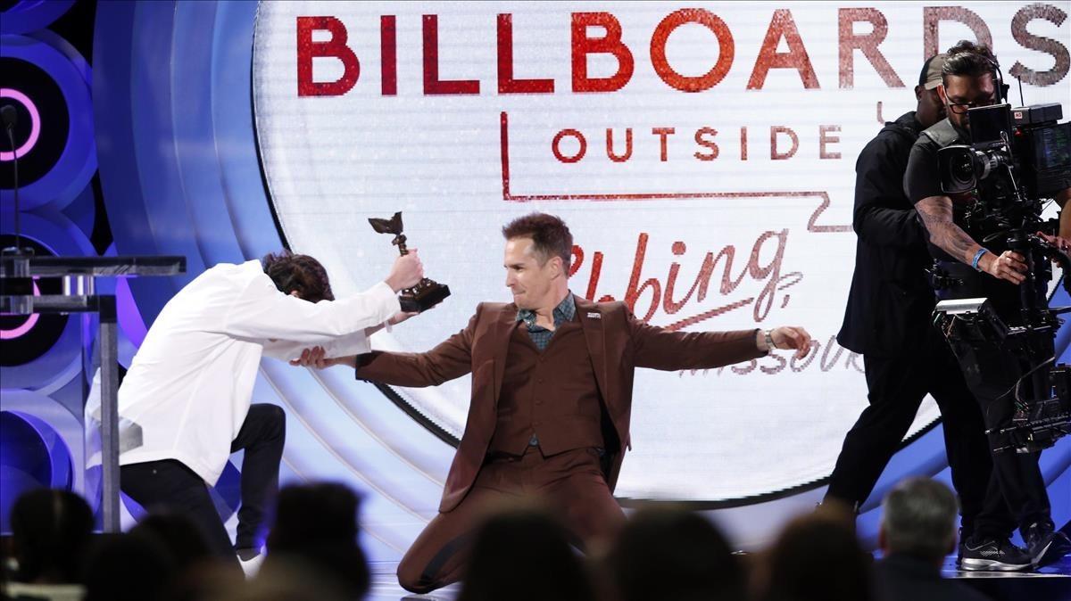 Sam Rockwell gana el premio al mejor actor secundario por Tres anuncios en las afueras.