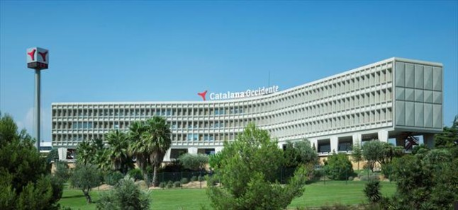 La sede central de la aseguradora Catalana Occidente, en Sant Cugat del Vallès.