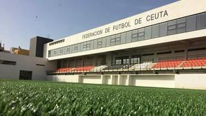 La sede de la Federación de Fútbol de Ceuta.