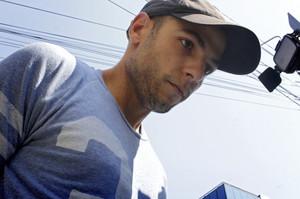 Sergio Morate, el 14 de agosto, llegando escoltado al tribunal rumano de Lugoj.