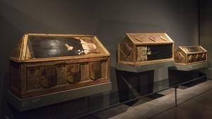Bienes que Sijena reclama, el pasado lunes en el Museu de Lleida.