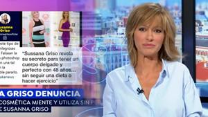 Susanna Griso denuncia que una marca utilitza i falseja la seva imatge per vendre productes aprimadors