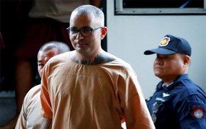El españolArtur Segarra condenado a muerte en Tailandia.