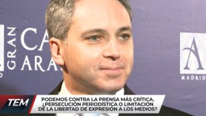 Mediaset se hace eco de la polémica de Vicente Vallés y Pablo Iglesias