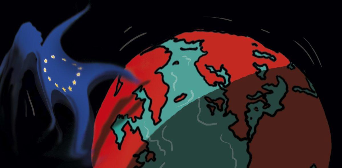 Europa en un mundo de gigantes