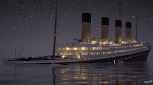 Una de las imágenes de la simulación del Titanic de Titanic Honor and Glory.