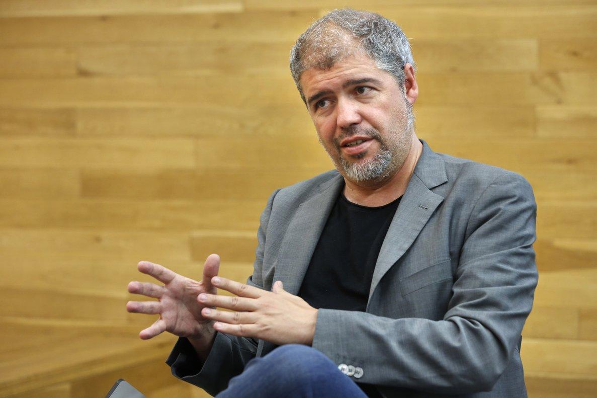 El secretario general de CCOO en toda España, Unai Sordo. / Álvaro Monge (El Periódico)