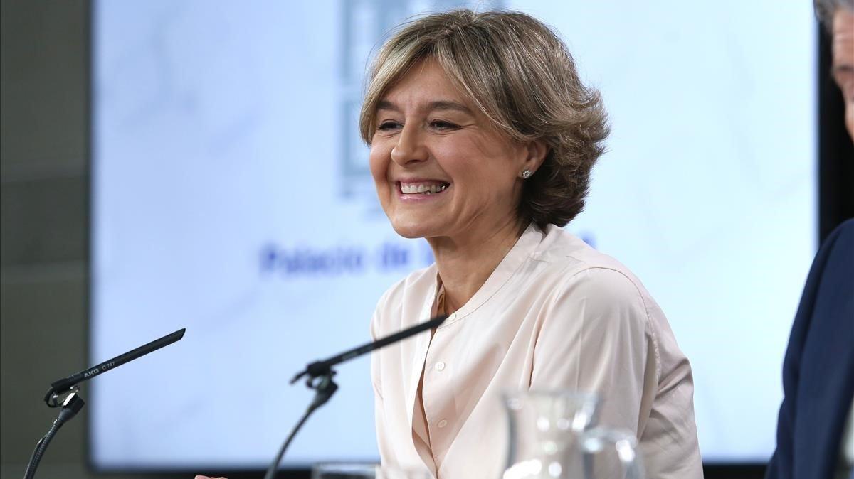 La vicesecretaria general de acción sectorial del PP,Isabel García Tejerina.