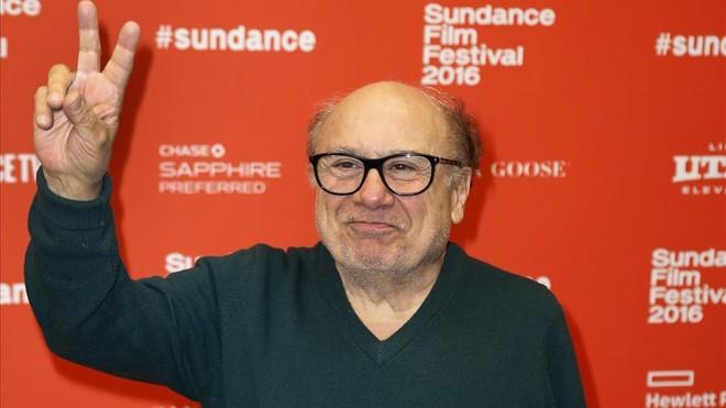 Danny DeVito, en el festival de cine de Sundance el 2016.