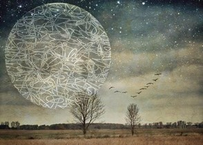 Luna de alambre