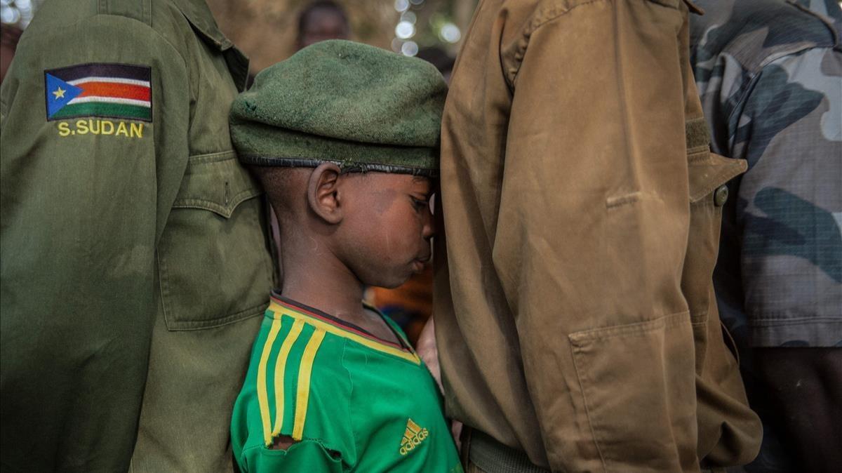 El drama dels nens soldat en una foto
