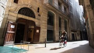 Capilla de Sant Cristofor del Regomir, en la calle de Regomir del barrio Gòtic.