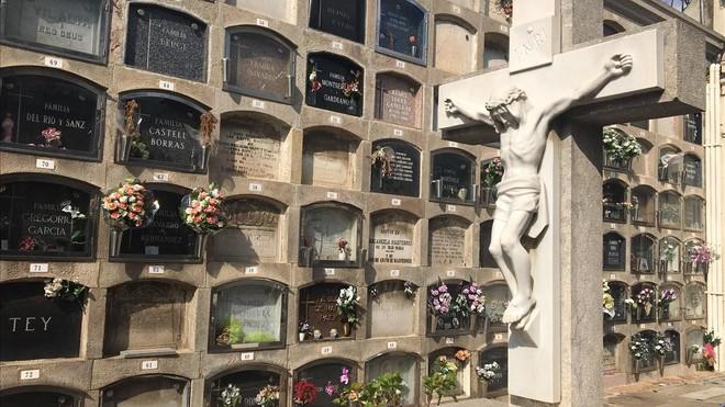 """""""El cementerio de Collserola está bien si no te entierran vivo"""""""
