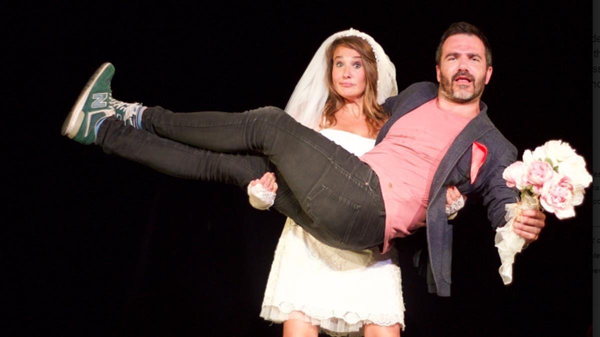 Carmen Trueba y Aitor Campo son los actores de Histeriotipos.