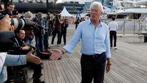 Richard Gere presenta a Cannes el seu debut televisiu