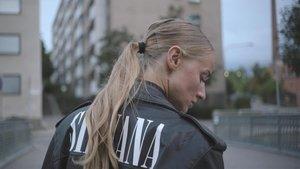 La rapera sueca Silbana Imam.