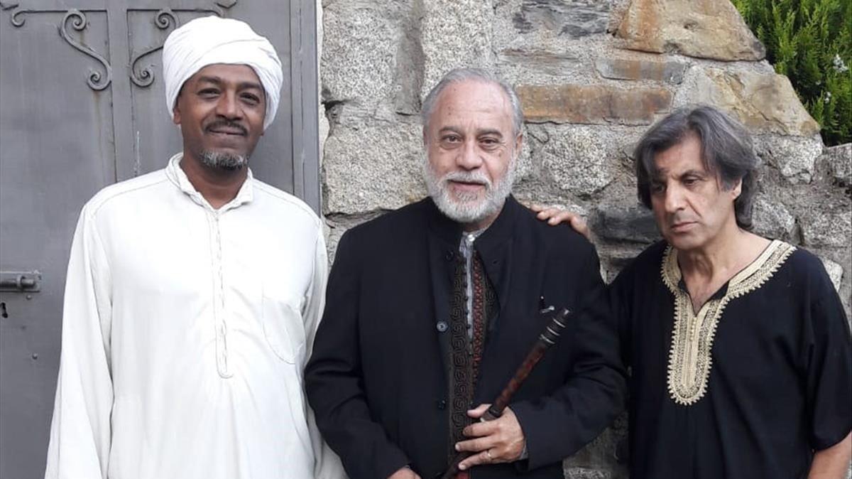 Wafir Gibril, Eduardo Paniagua y Pedro Burruezo.