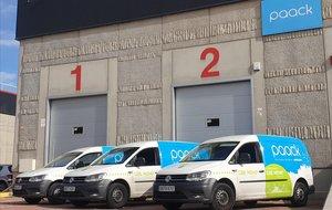 Instalaciones de Paack, presente ya en cinco países, en Madrid.