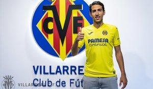 Dani Parejo, con la camiseta del Villarreal.