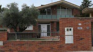 Uno de los domicilios de un investigado por narcotráfico en Sabadell.