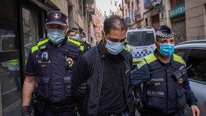 Ingressen a presó 20 dels detinguts en la batuda contra la droga a Barcelona