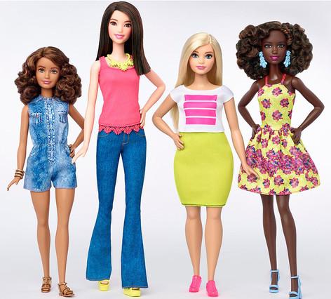 Nace la Barbie real, con curvas