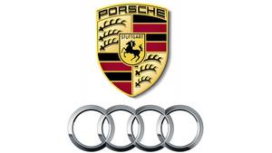 porsche-audi-logos
