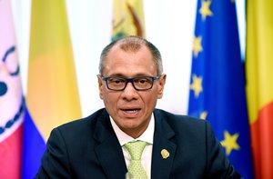 Glas dejó de ser vicepresidente el pasado 3 de enero, al haberse cumplido tres meses de ausencia temporal del cargo.