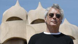 Alessandro Barico, este lunes en Barcelona