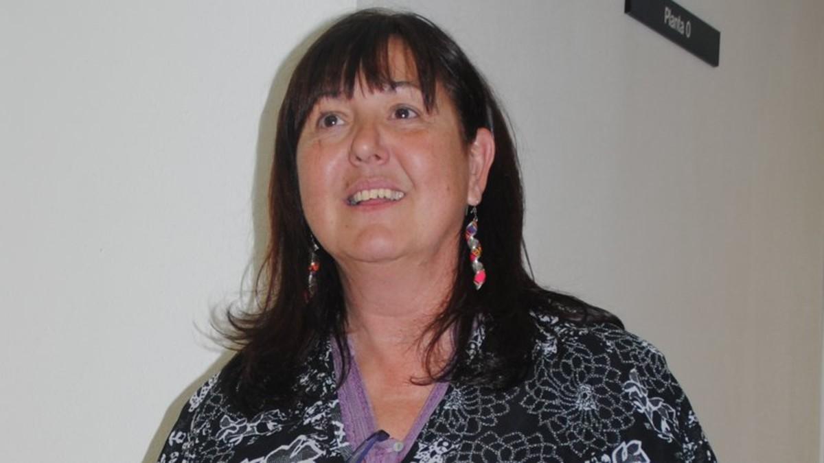 Ana Maria Caballero, regidora no adscrita de lAjuntamentde Mataró.