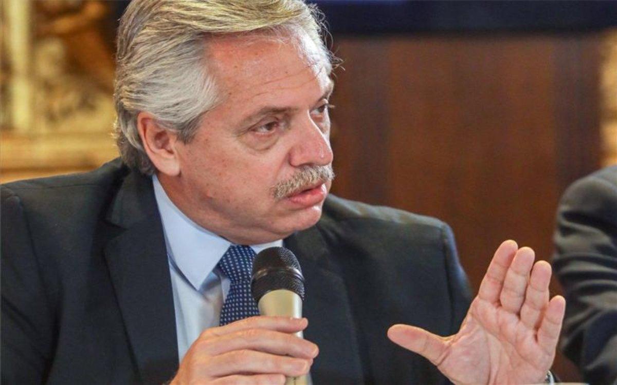 El presidente Alberto Fernández aseguró que Argentina quiere pagar un precio justo por su deuda.