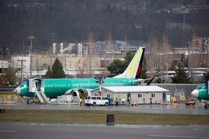 Un aviónBoeing 737 MAX.