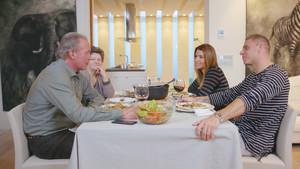 Bertín Osborne, en la entrevista con Joaquín en 'Mi casa es la tuya'.