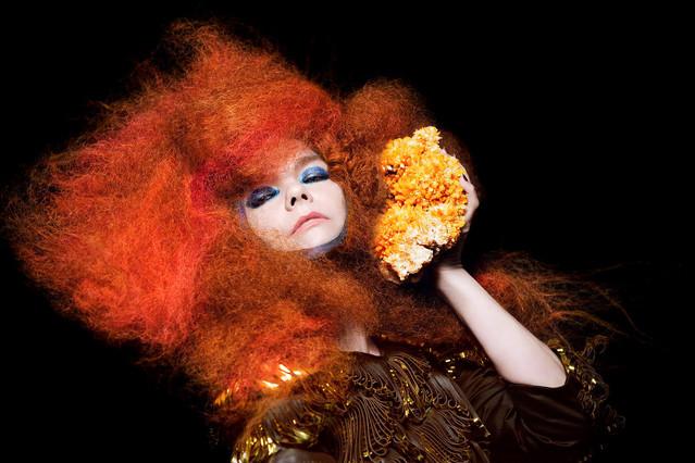 Foto de archivo de la cantante Björk.