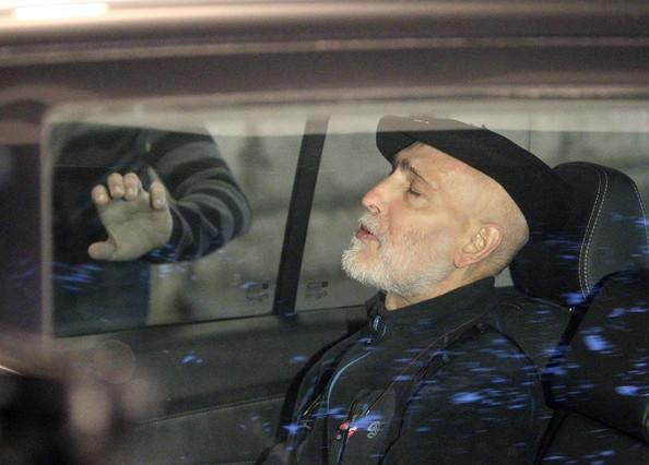 Bolinaga abandona lhospital Donostia rumb al seu domicili, loctubre del 2012.