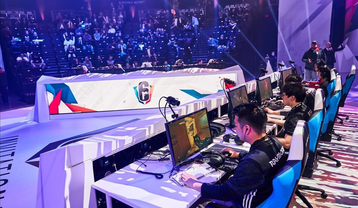 Campeonato de eSports en Montreal.