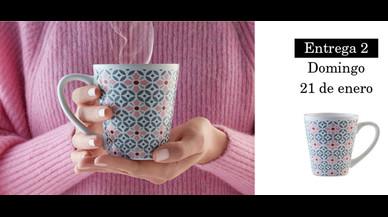 Colección de tazas modernistas de Pilma. Entrega 2