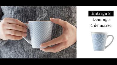 Colección de tazas modernistas de Pilma. Entrega 8