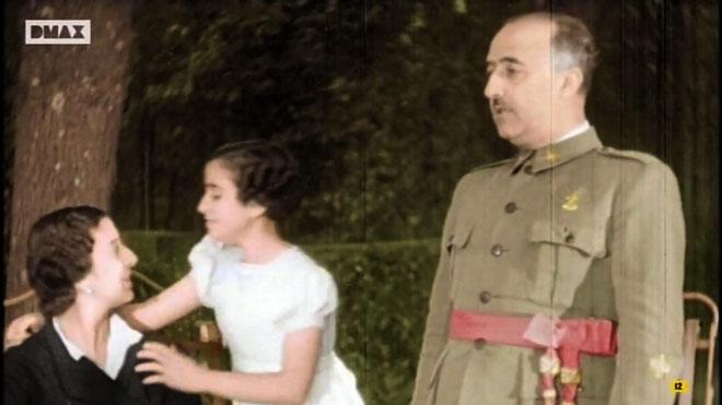 Franco y familia, en colorines (canal DMax).
