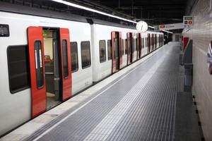 Un comboi de Ferrocarrils de la Generalitat de Catalunya.