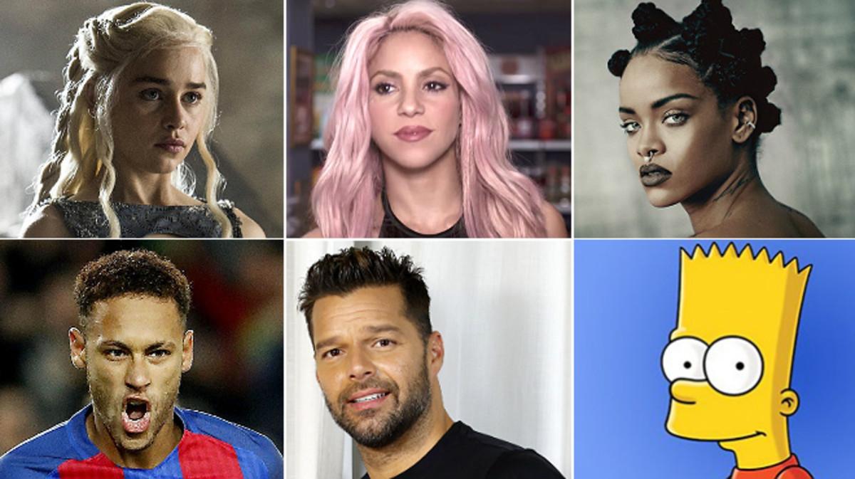 Daenerys, Shakira, Rihanna, Neymar, Ricky y Bart, algunos de los nombres de los nuevos españoles, según el INE.