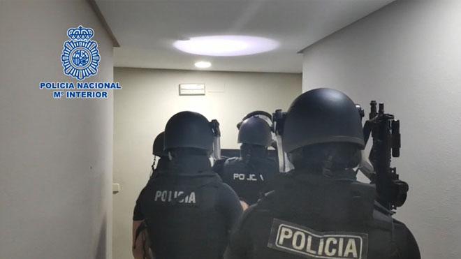 Detenidos en Málaga 9 sicarios que disparaban por encargo.
