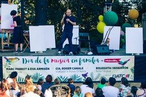 Dia de la Música en Família: pequeños festivaleros