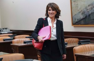 "Delgado ve haber sido ministra una ""fortaleza"" para ser fiscala general"