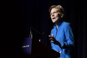 Elizabeth Warren, senadora demócrata.