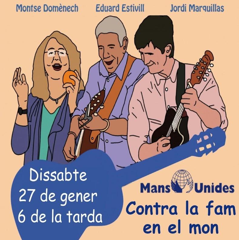 Cartel del concierto de Falsterbo en Mataró.